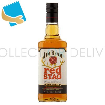 Jim Beam Red Stag Black Cherry Kentucky Bourbon Whiskey 70Cl