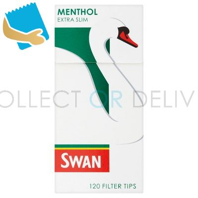 Swan Menthol Extra Slim 120 Pre Cut Filter Tips