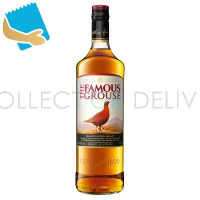 The Famous Grouse Finest Blended Scotch Whisky 1 Litre