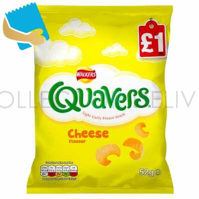Walkers Quavers Cheese Snacks 52G