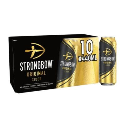 Strongbow Cider 10X440ml Can