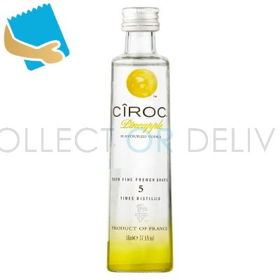 Cîroc Pineapple Flavoured Vodka 5Cl