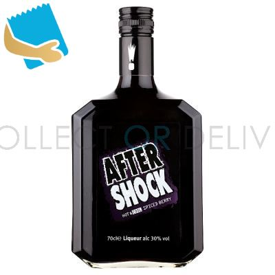 After Shock Hot & Cool Spiced Berry Liqueur 70Cl