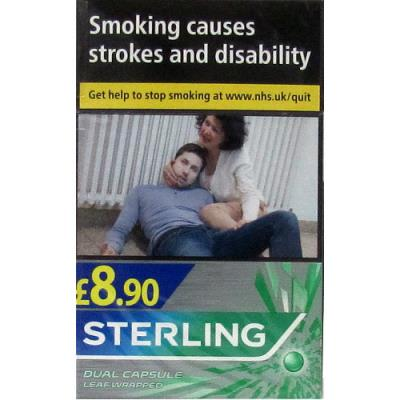 Sterling Dual Capsule Leaf Wrapped 20