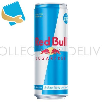 Red Bull Energy Drink, Sugar Free 473Ml, PM (12 Pack)