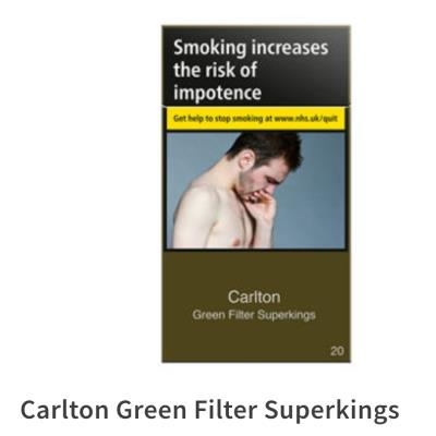 Carlton Green Filter Superking