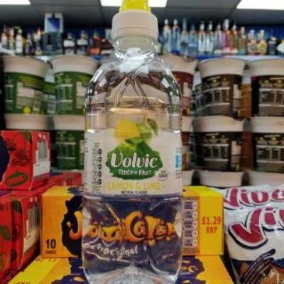 Volvic Lamon & Lime Flavored Water