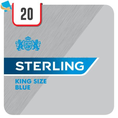 Sterling Blue 20 Cigarettes