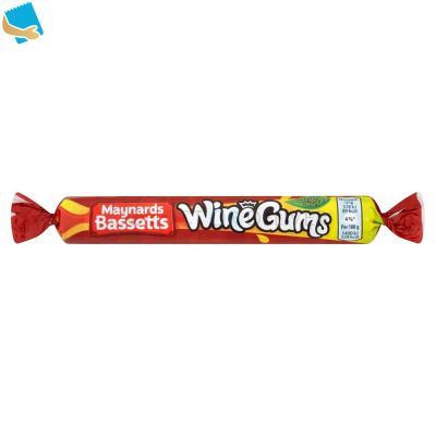 Maynards Bassetts Wine Gums Sweets Roll 52G