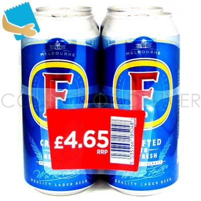 Fosters 4 Pack