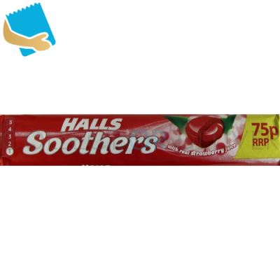 Halls Soothers Strawberry Sweets 45g