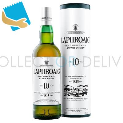 Laphroaig Islay Single Malt Scotch Whisky 10 Year Old 70Cl