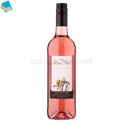 The Straw Hat Prestige Collection Lush & Fruity Rosé 75cl