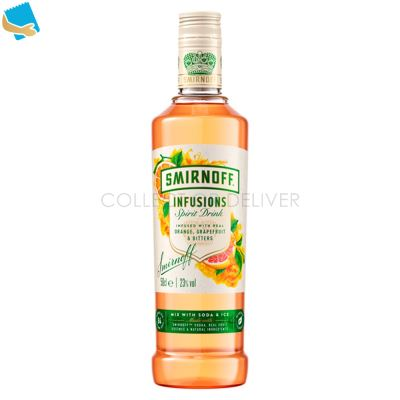 Smirnoff Infusions Orange, Grapefruit And Bitters 50Cl 84 Calories Per Serve