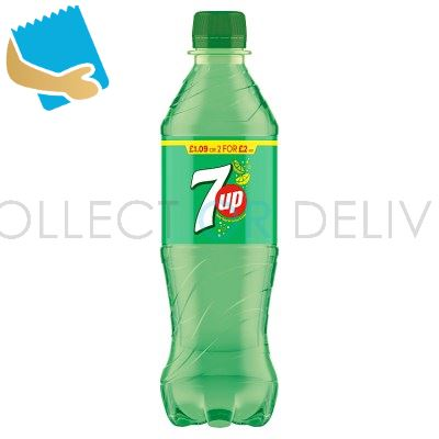 7UP Lemon & Lime 500Ml