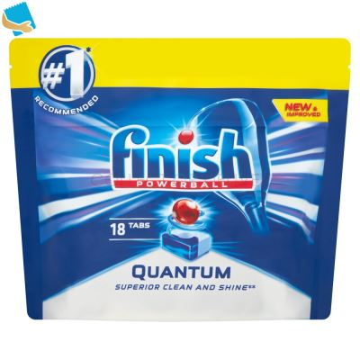 Finish Powerball Super Charged Quantum Max 18 Tabs 279g