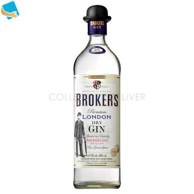 Broker's Gin Premium London Dry Gin 70Cl