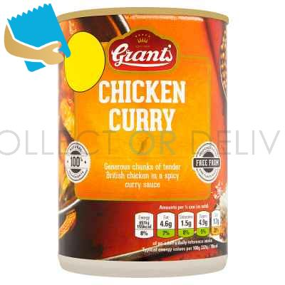 Grant's Chicken Curry 392g