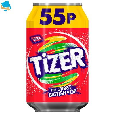 Tizer 330ml Can,