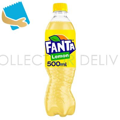 Fanta Lemon 500Ml