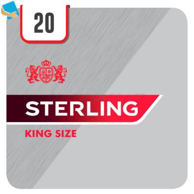 Sterling King Size 20 Cigarettes