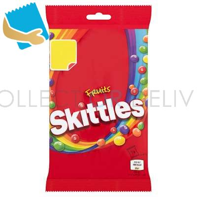 Skittles Fruits Sweets Treat Bag 125G