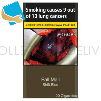 Pall Mall Shift Blue 20 Cigarettes
