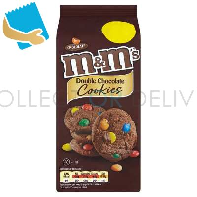 M&M's Double Chocolate Cookies 144G