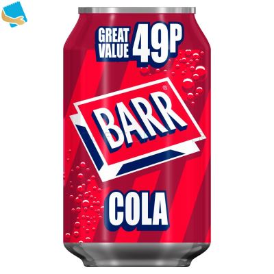 Barr Cola 330Ml Can,
