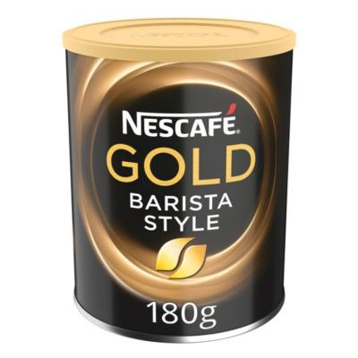 Nescafe Barista Gold Blend Style Instant Coffee 180G