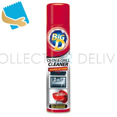 Big D Tough Action Oven & Grill Cleaner 300ml