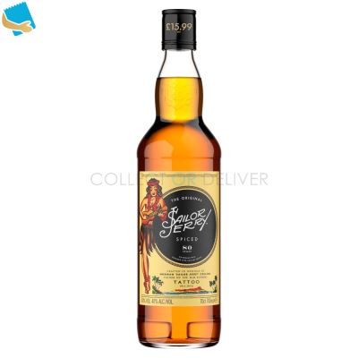 Sailor Jerry The Original Spiced Caribbean Rum 70Cl
