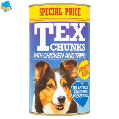 Tex Chunks with Chicken and Tripe 1.2kg