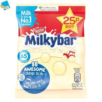 Milkybar White Chocolate Buttons Bag 12g