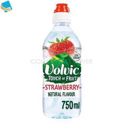 Volvic Touch of Fruit Strawberry Natural Flavoured Water 750ml