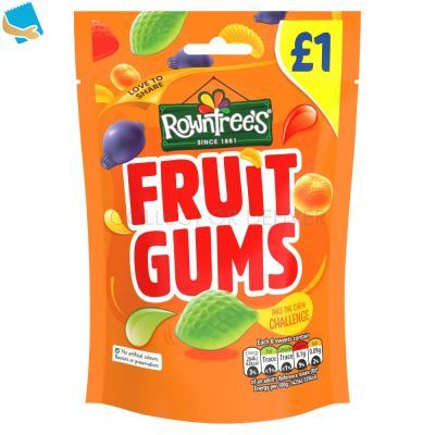 Rowntree's Fruit Gums Sweets Sharing Pouch 120g
