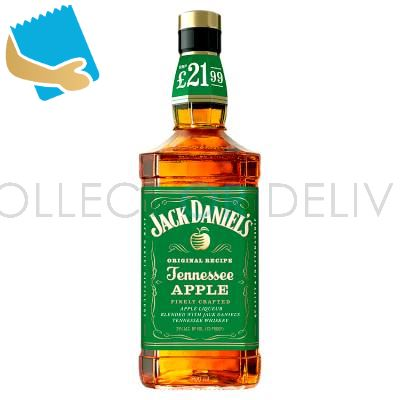 Jack Daniel's Tennessee Whiskey Blended With Apple Liqueur 70Cl