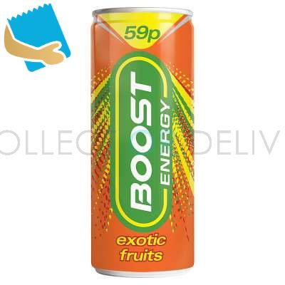 Boost Energy Exotic Fruits 250Ml