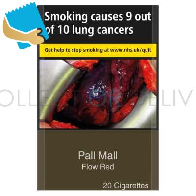 Pall Mall Flow Red 20 Cigarettes