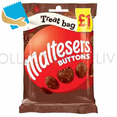 Maltesers Buttons Chocolate Treat Bag 68G