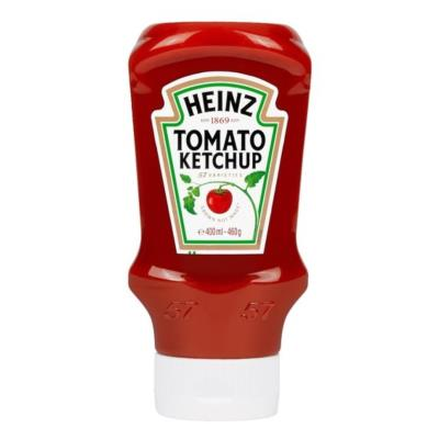Heinz Top Down Squeezy Tomato Ketchup Sauce 460G