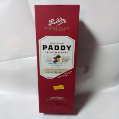 Paddy Tripple Distilled Scitish Whiskey