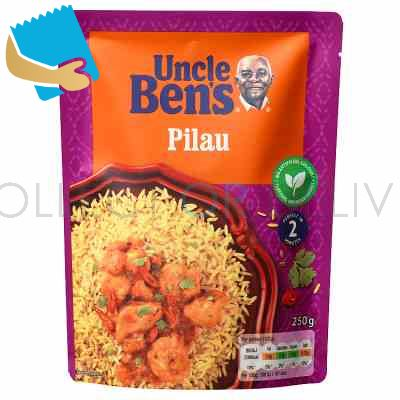 Uncle Bens Pilau Microwave Rice 250g