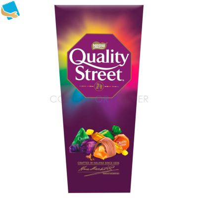 Quality Street Chocolate Toffee & Cremes Carton 232G