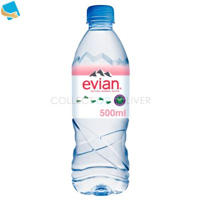 Evian Still Natural Mineral Water 50Cl