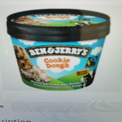 Ben And Jerry Cookie Dough Ice Cream