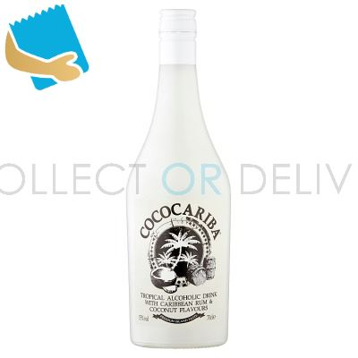 Coco Cariba Tropical Alcoholic Drink with Caribbean Rum & Coconut Flavours 70cl