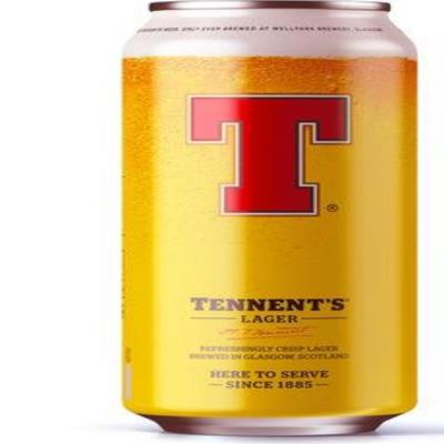 Tennent's Lager Can 500Ml