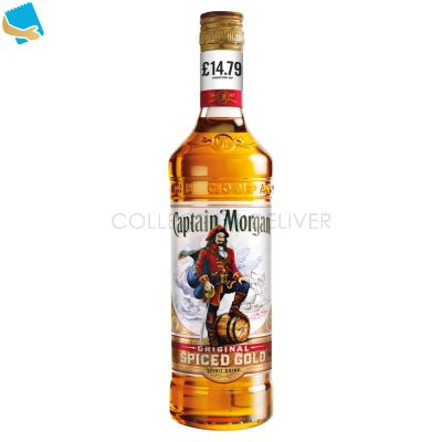 Captain Morgan Original Spiced Gold Rum Based Spirit Drink 70Cl