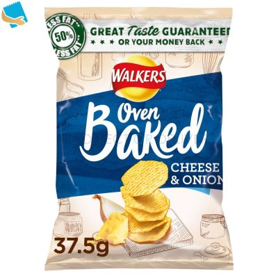 Walkers Baked Cheese & Onion Snack 37.5g